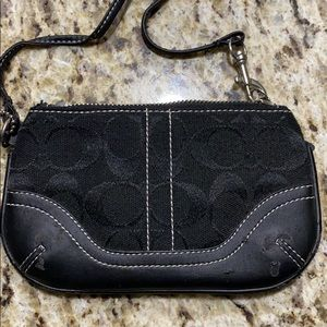 Coach clutch purse